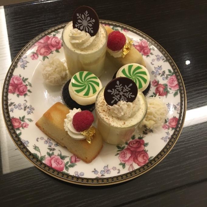 third course: dessert! YUM